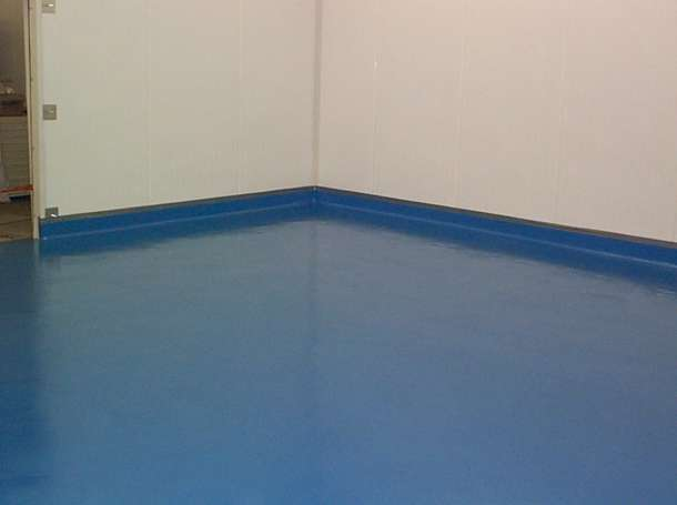 Troweled Epoxy Flooring (Colored)